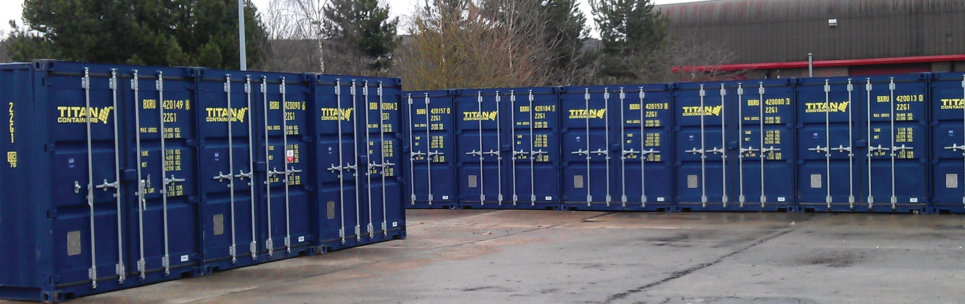self storage containers in Johannesburg